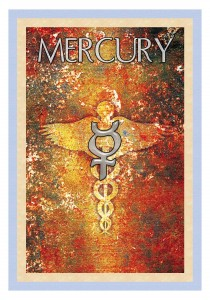 The caduceus of Mercury symbolizes the path to a unified field of consciousness which arises when polarities cease to exist