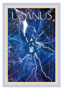 Uranus works suddenly - like a lightening strike. Uranus also assists you in clearing ancestral issues and recoding your DNA.