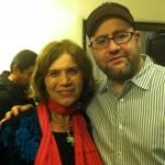 With Yehuda Berg