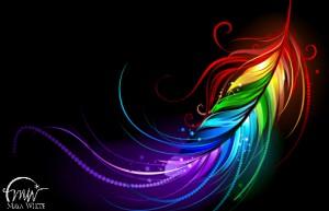 rainbow_feather